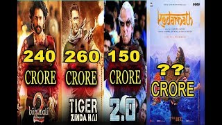 Box Office Collection | 2.O Vs Tiger Zinda Hai Vs Bahubali 2 Vs Kedarnath | Video