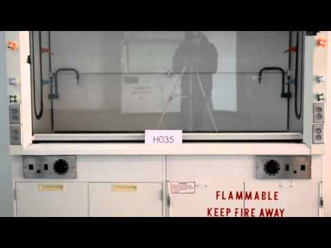 6' Hamilton SafeAire Fume Hood Laboratory Furniture Equipment Fume Hood