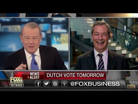 Nigel Farage: Geert Wilders Le Pen and Angela Merkel. Why should Americans care?