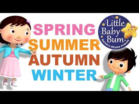 Seasons Song  4 Seasons  Autumn Version  Original Song  LittleBaBum!