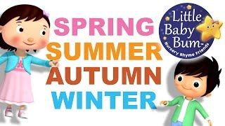 Seasons Song | Autumn Version | Little Baby Bum | Nursery Rhymes for Babies | Songs for Kids