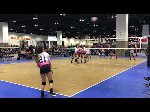 2018 PBJ13Elite vs Club V 13 Set 1 (29-27): Colorado