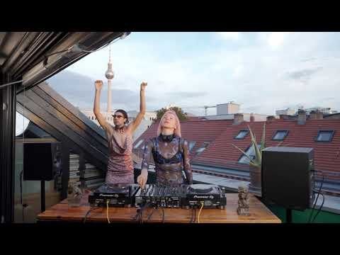 Ellen Allien Balcony Live Streaming 20.08.2020