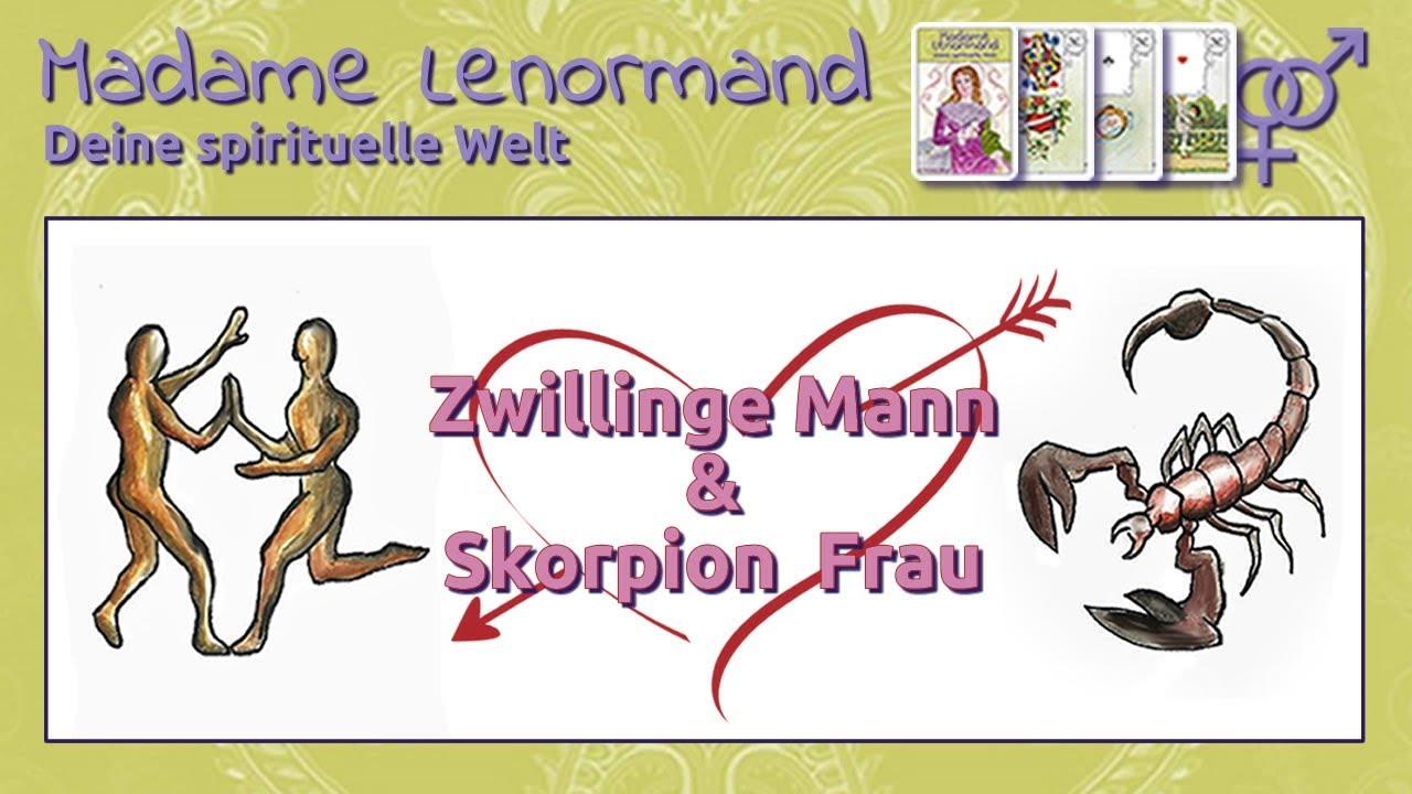 skorpion mann zwilling frau
