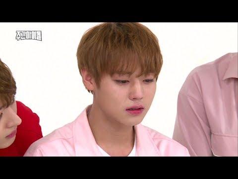 (Weekly Idol EP.316) WANNA One's JI Hoon the artisan of crying acting [지훈 눈물연기]
