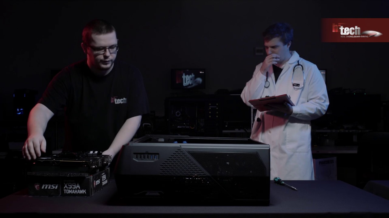 GAMER PC XTREME WRATH V24 In Win 101 black RGB   Gaming PCs   HI