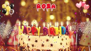 ROZA Happy Birthday Song – Happy Birthday Roza