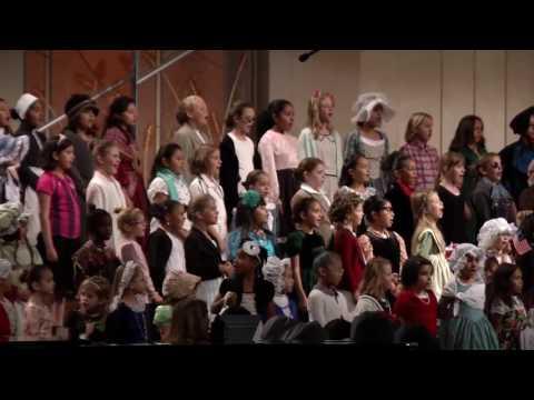 Lancaster Baptist School Great American's Program 2016