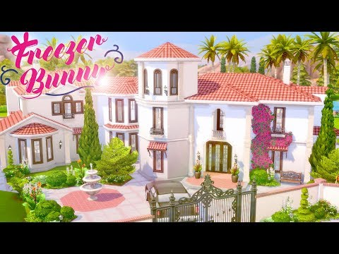 Spanish Revival Dream Mansion ? ? | The Sims 4 | Speed Build | CC Free + Download Links thumbnail