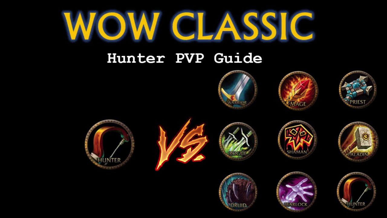 Classic Wow Pvp How To Hunter Youtube