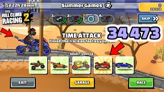 Hill Climb Racing 2 - 34473 points in SUMMER GAMES Team Event