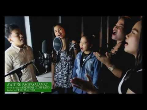 AWIT NG PASASALAMAT by Shekinah Glory (Recording Session)