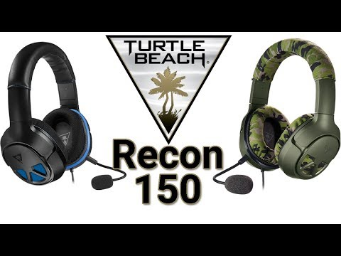 Turtle Beach Ear Force Recon 150 XO3 Wired Gaming Headset Review - Compatibility Connections Sound