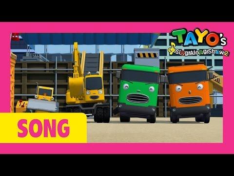 [Tayo's Sing Along Show 2] #10 Strong Heavy Vehicles Clang Clang Bang Bang Let's Build!
