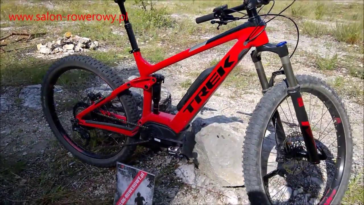 ee63203a056 rower Trek Powerfly FS 7 2018 www.salon-rowerowy.pl - YouTube