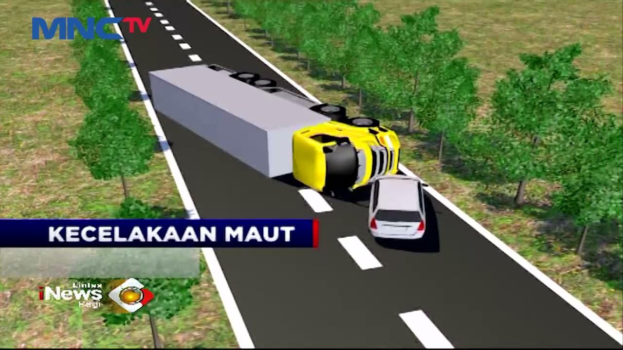 Kecelakaan Maut Minibus Tabrak Truk, 1 Orang Tewas - LIP 13/06