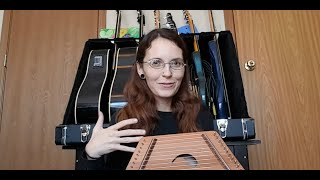 Unboxing a James Jones Zither (Lap Harp or Psaltery)!
