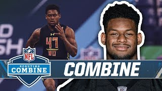JuJu Smith-Schuster at the NFL Combine in 2017 | Pittsburgh Steelers