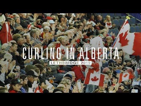 Throwing Stones - Curling In Lethbridge