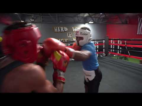 Christian Camacho Sparring Session - Kissimmee, Florida