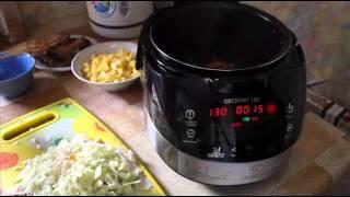 Домашние видео рецепты - щи из свежей капусты и ребрышек в мультиварке