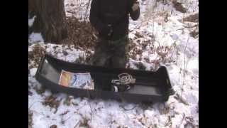 Winter Camping- Cheap Diy Pulk/sled