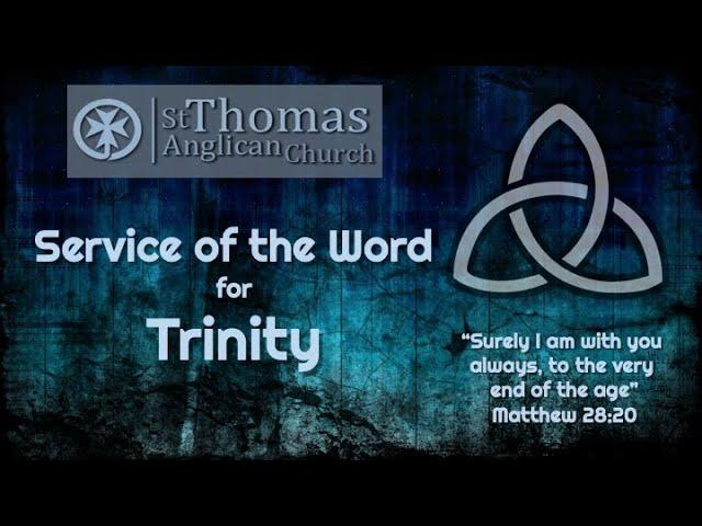 Trinity Service 5th June 2020