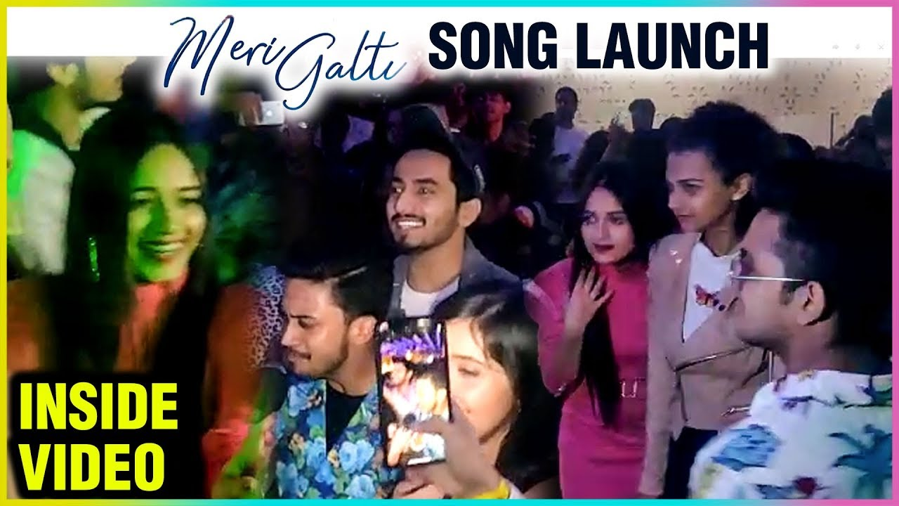 Team 07, Jannat Zubair, Team Nawab INSIDE DANCE Video   Meri Galti Song Launch   Ashnoor & Hasnain