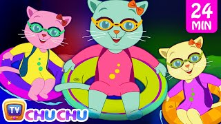 Three Little Kittens Went To The Swimming Pool | Nursery Rhymes by Cutians | ChuChu TV Kids Songs