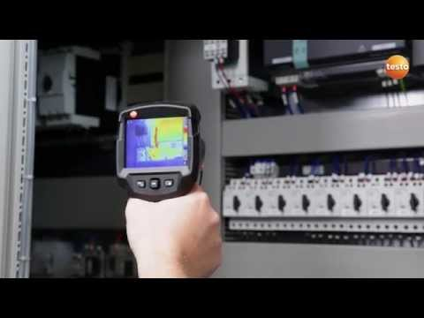 Thermography in electrical contracting with the testo 870 thermal imager | We measure it. Testo