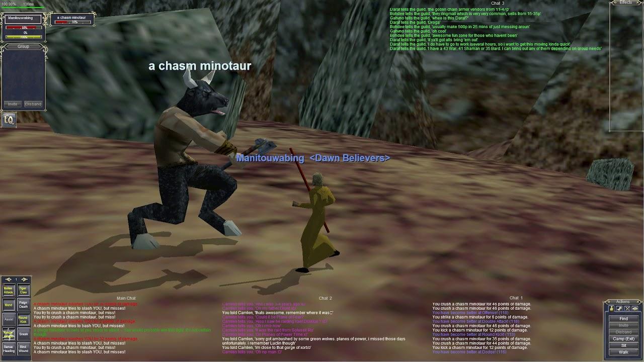Manitouwabing - Gorge of King Xorbb - Killing A Minotaur