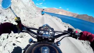Ladakh Enfield Bike Tour Leh to Pangong India (Part 1 of 3) MOWGS    ラダック レー バイク インド エンフィールド