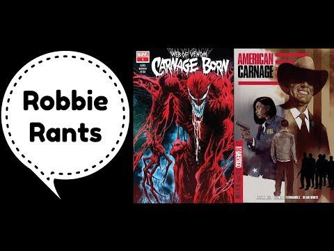 Weekly Comic Book Review 11/21/18 - Robbie Rants #244