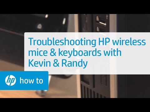 Troubleshooting HP Wireless Mice And Keyboards - From The Desktop With Kevin & Randy | HP