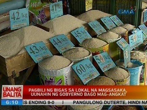 DA, DTI af NFA, bubuo ng technical working group para sa pagtatakda ng SRP sa bigas