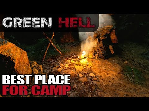BEST PLACE FOR CAMP | Green Hell | Let's Play Gameplay | S01E03