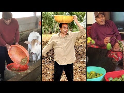 Dharamendra Iron Man Of Bollywood Is Farmer By Heart l Dharmendra Farmhouse in Lonawala