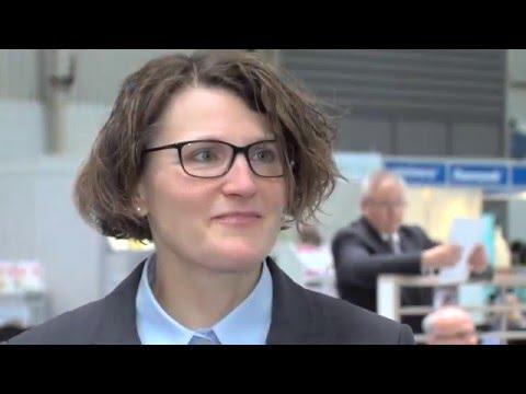 Altenpflegemesse 2016, Hannover – Interview R.Holtorf, Deutsche Gesellschaft für Ernährung