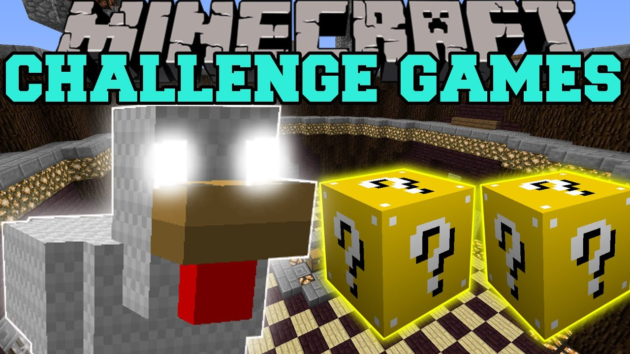 Pat and jen minecraft spring trap challenge games lucky - Pat and jen lucky block challenge games ...