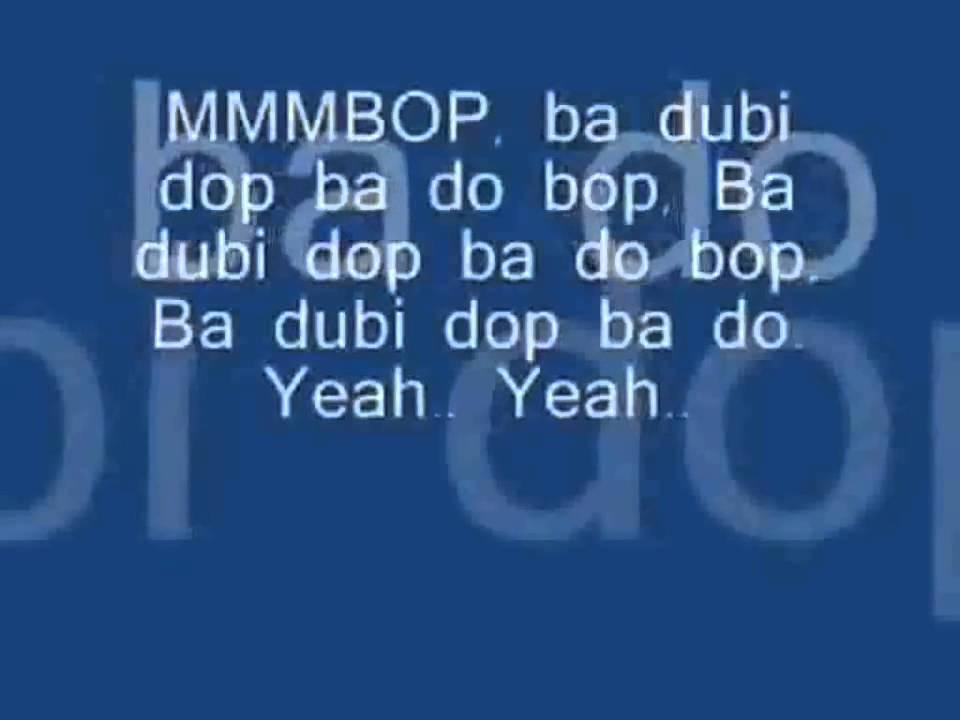 Mmmbop - Lyrics.com