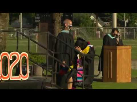 Gladstone High School 2020 Senior Graduation Part 2