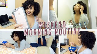 Weekend Morning Routine | College Edition