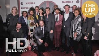 Deadpool 2 premiere photocall and red carpet: Ryan Reynolds, Josh Brolin