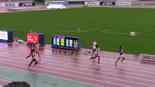2017 U20陸上  男子400m 決勝A,B