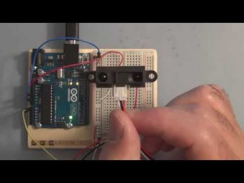 Connecting a Sharp Distance Sensor to the Arduino Uno