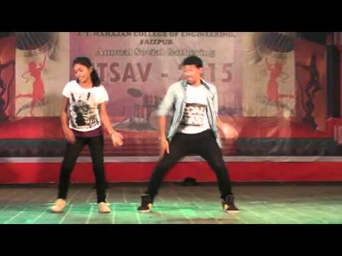 anand group dance in J T Mahajan College Of Engg ,Faizpur