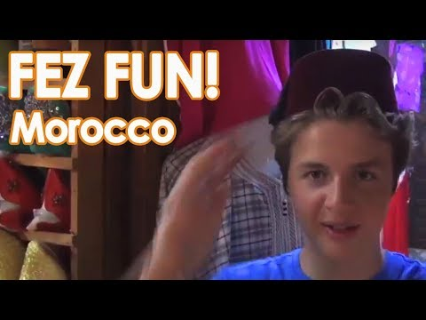 Fes Morocco Travel Tips // Nate and Shea Teen Travels // Night Market Adventures