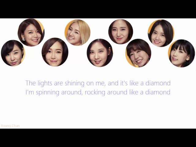 Girls Generation - Diamond lyrics