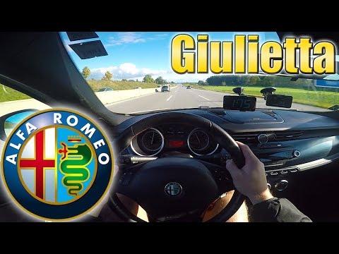 My Giulietta SOFTWARE/ Chiptuning+ Autobahn TEST!