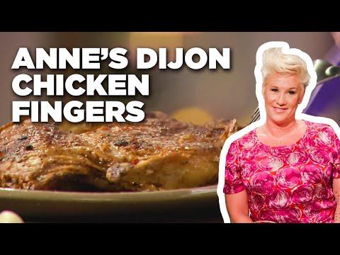 anne-burrell's-dijon-saltine-chicken-fingers-|-secrets-of-a-restaurant-chef-|-food-network